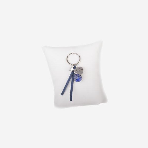 bijou pour chien lucky Charm Lapis lazuli