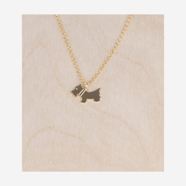 Collier avec pendentif petit chien